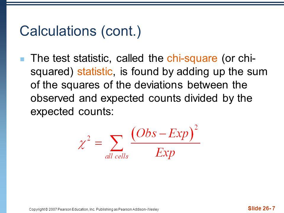 Calculations (cont.)