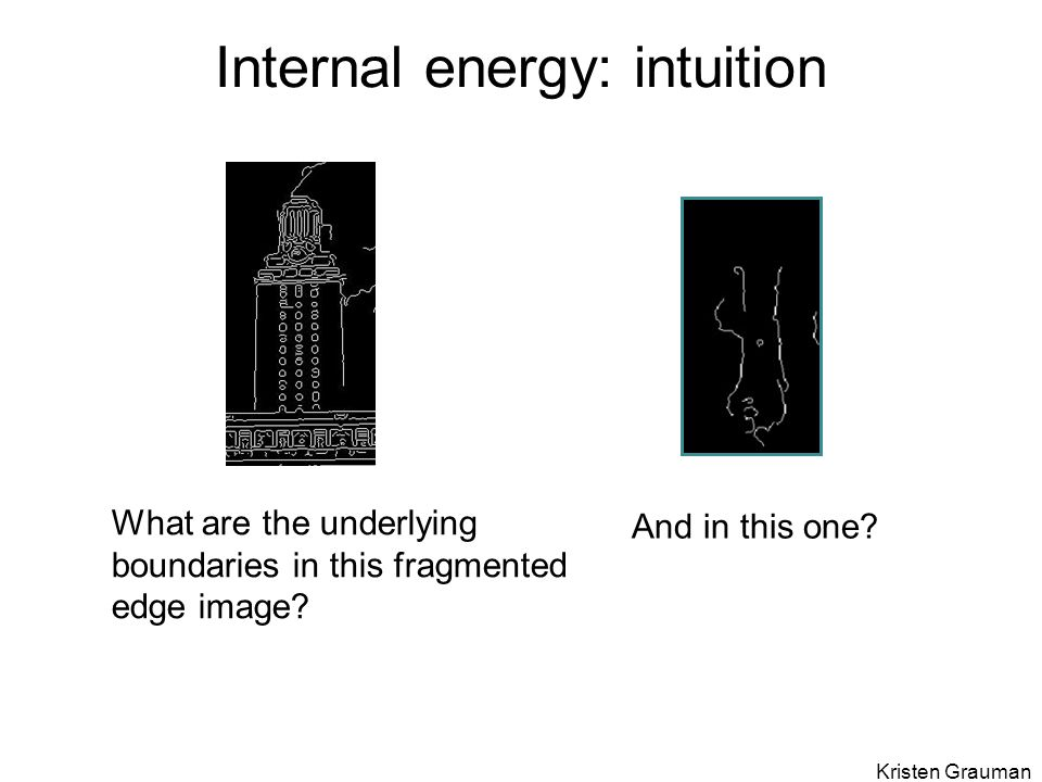 Internal energy: intuition