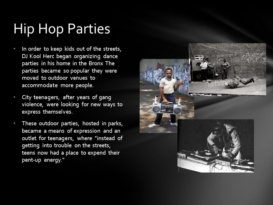 Hip Hop Parties
