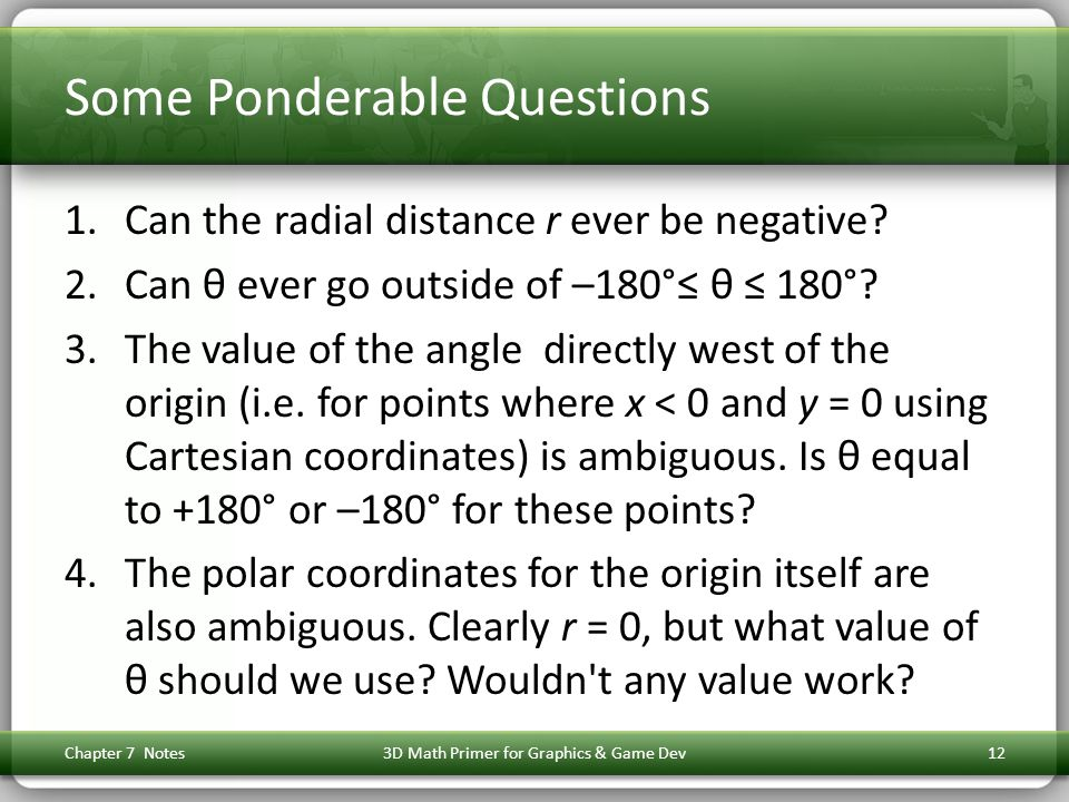 Some Ponderable Questions
