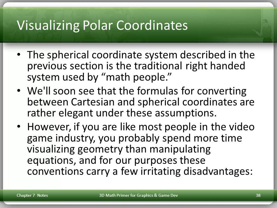 Visualizing Polar Coordinates