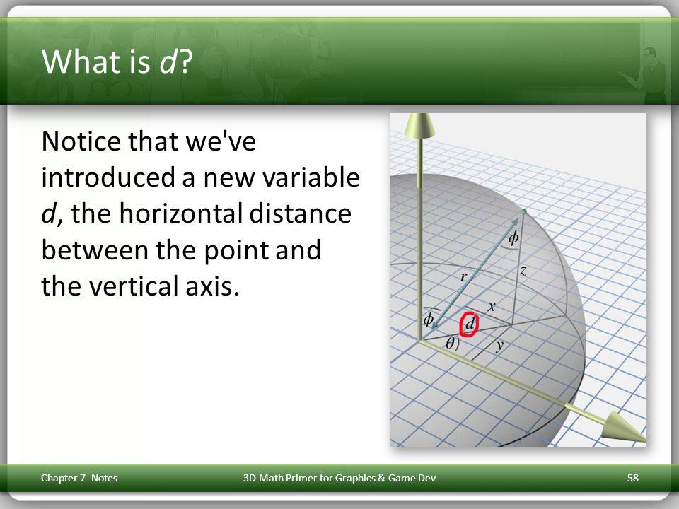 3D Math Primer for Graphics & Game Dev