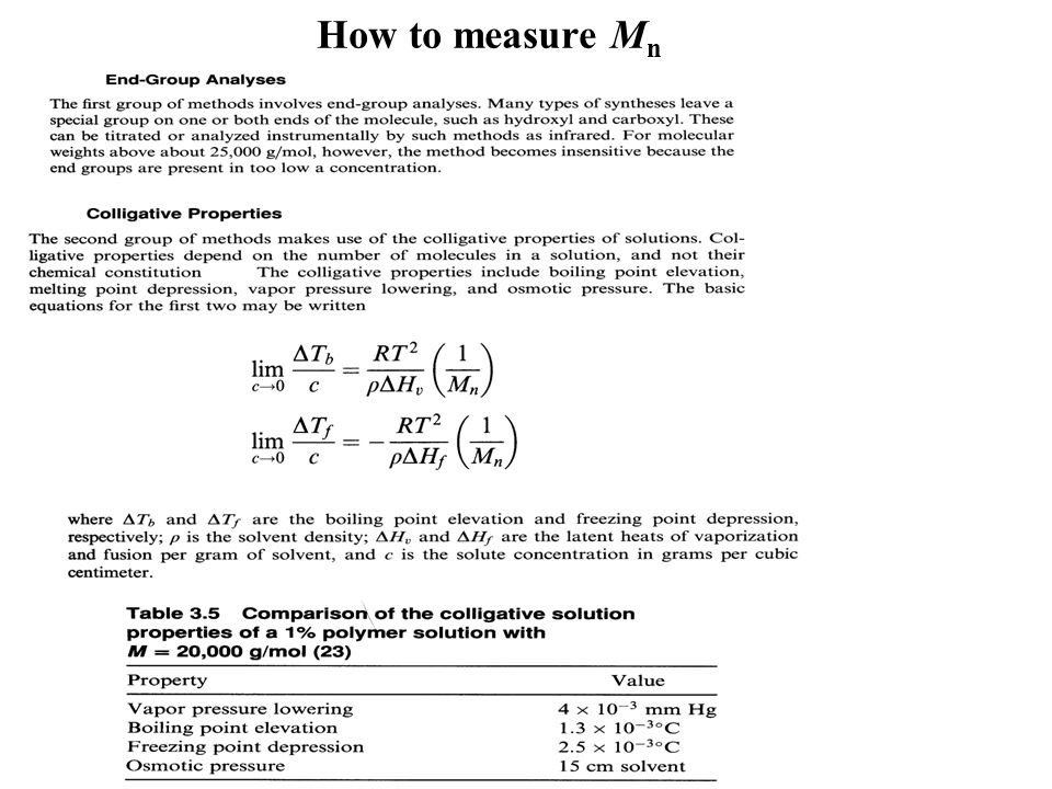 How to measure Mn