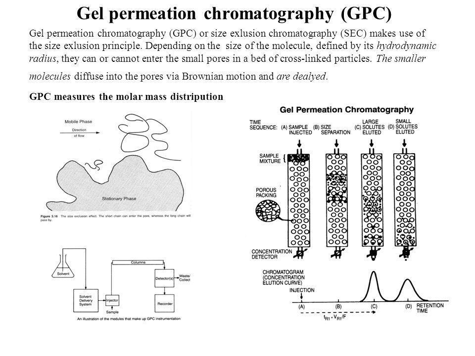 Gel permeation chromatography (GPC)