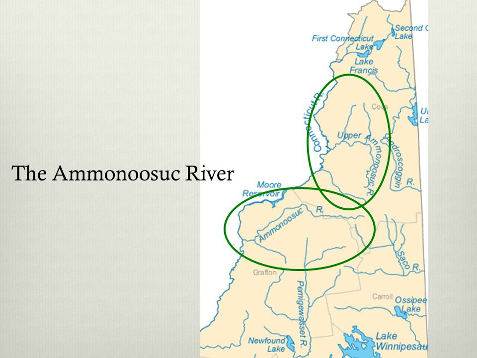 The Ammonoosuc River