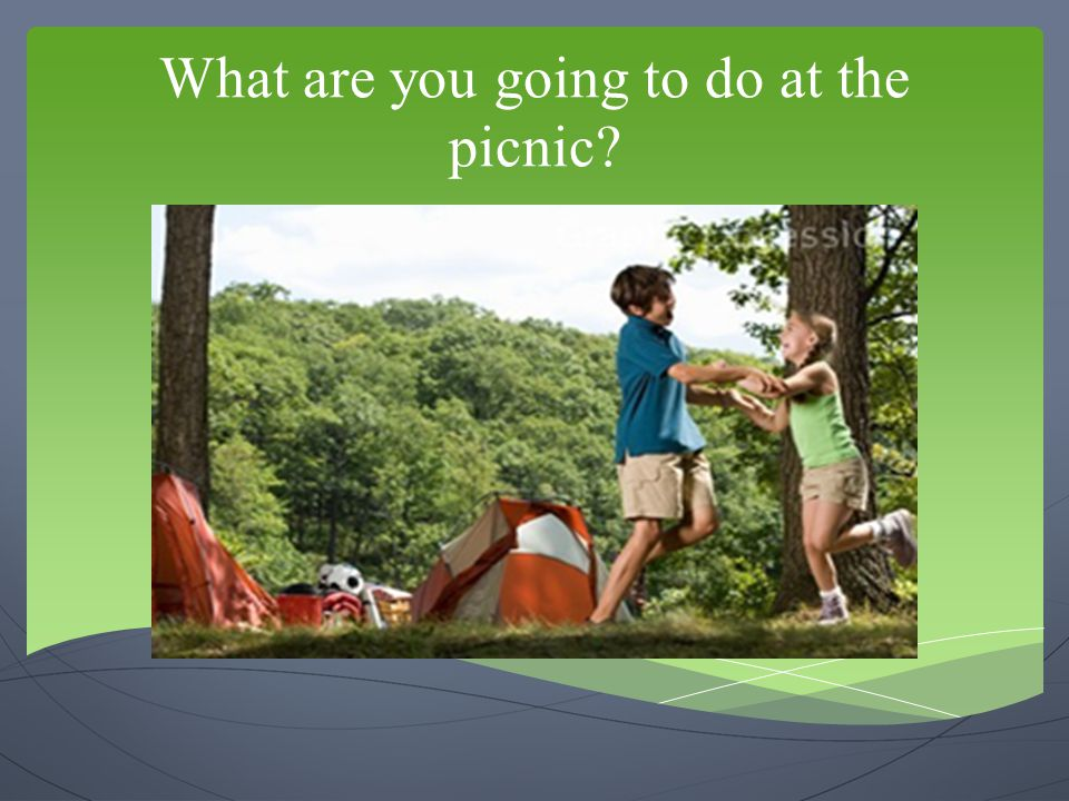What are you going to do at the picnic
