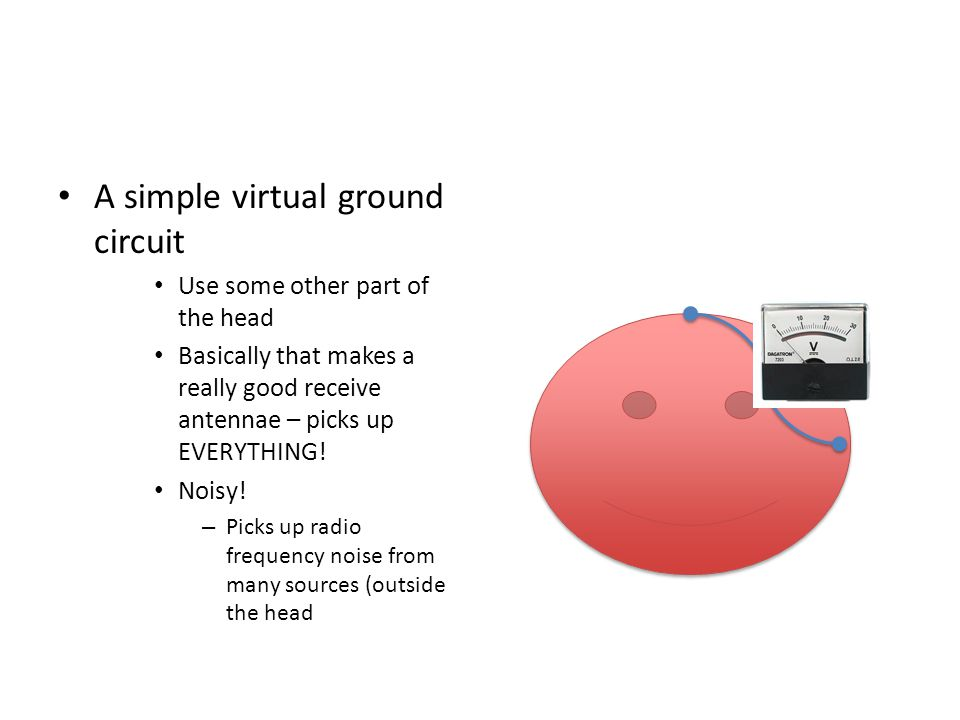 A simple virtual ground circuit