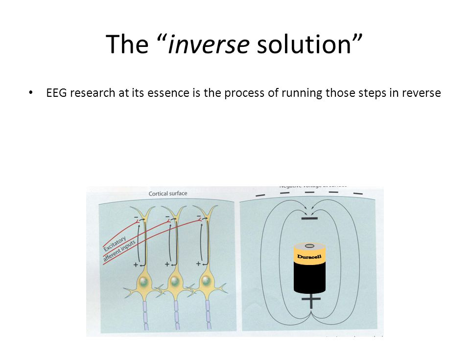 The inverse solution