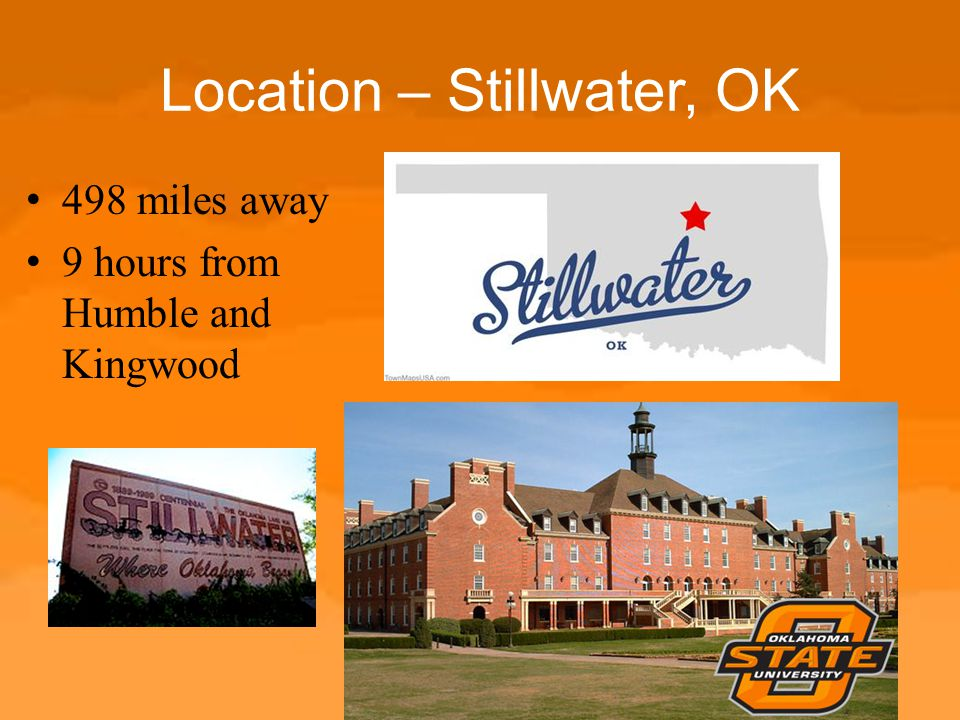 Location – Stillwater, OK