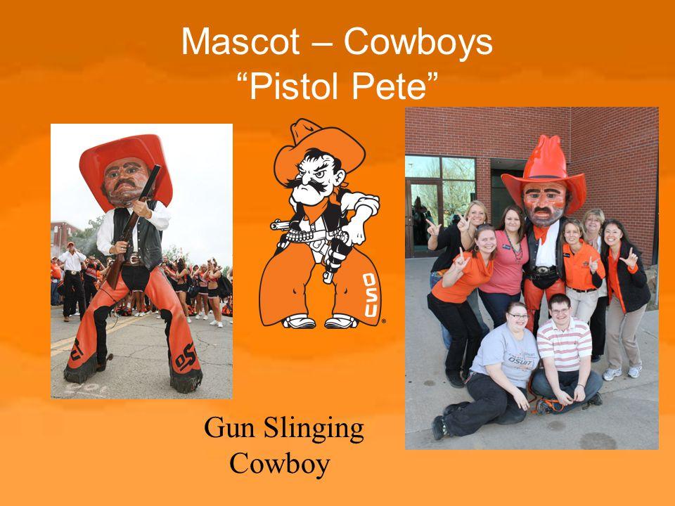 Mascot – Cowboys Pistol Pete