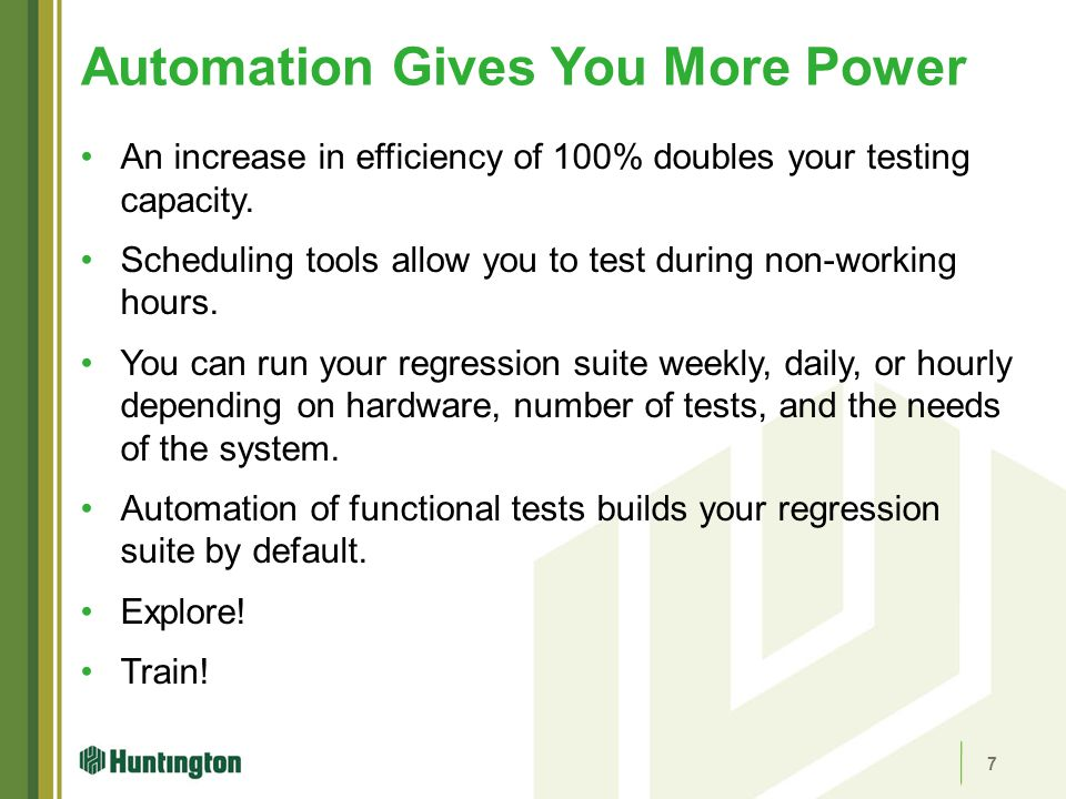 Automation Gives You More Power