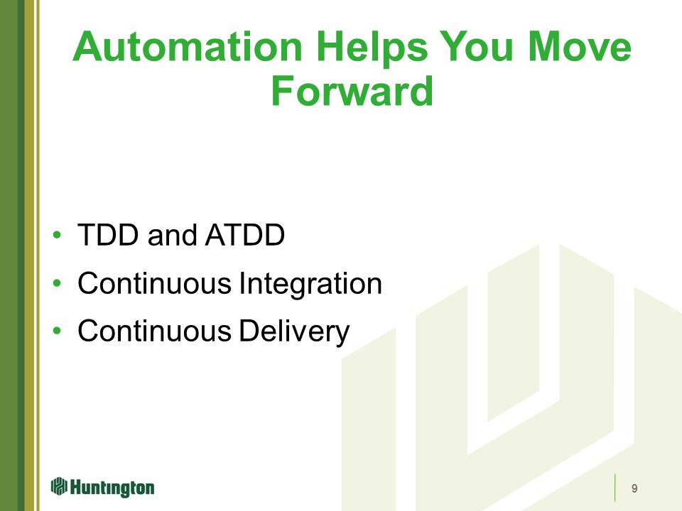 Automation Helps You Move Forward