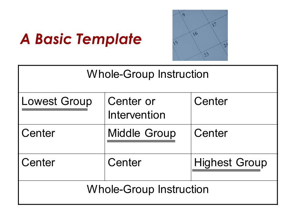 Whole-Group Instruction