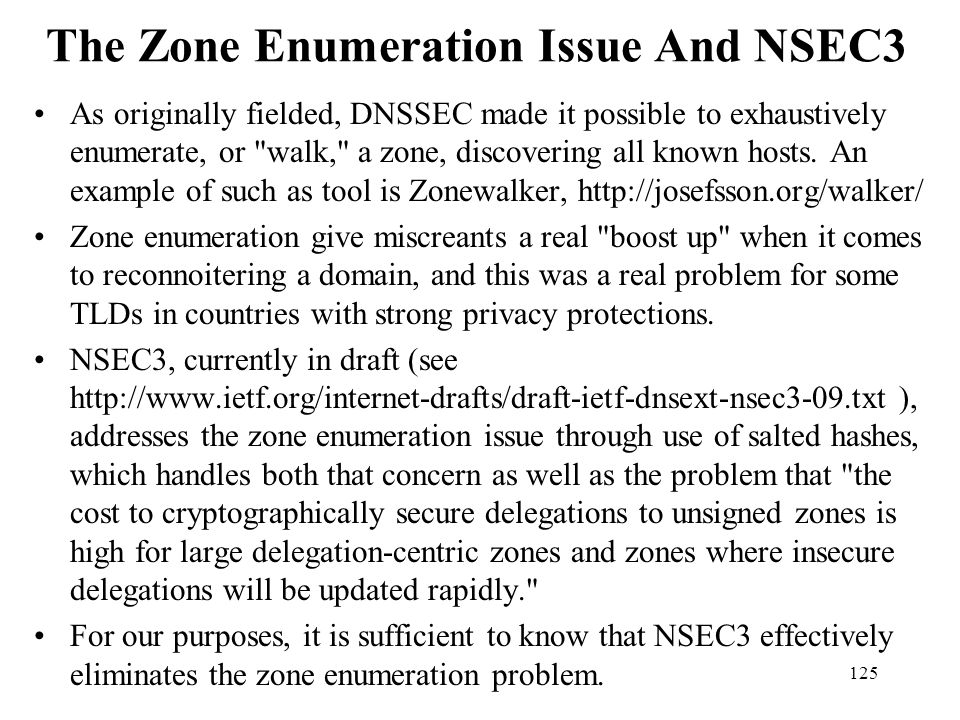 The Zone Enumeration Issue And NSEC3
