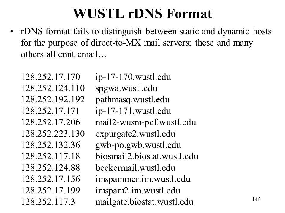 WUSTL rDNS Format