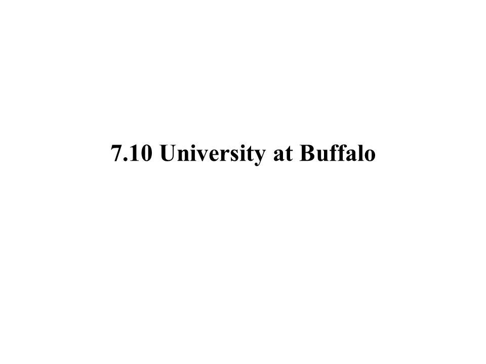 7.10 University at Buffalo