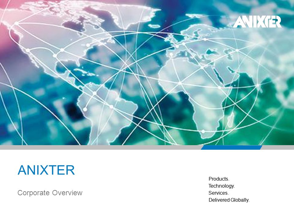 ANIXTER Corporate Overview