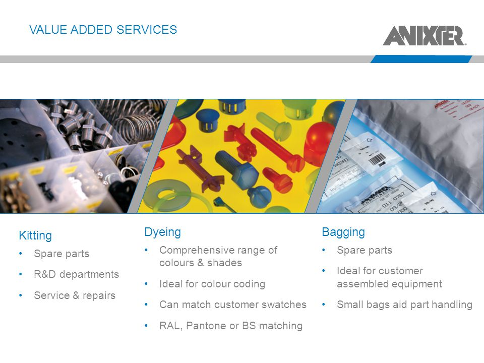 Value Added Services Dyeing Bagging Kitting