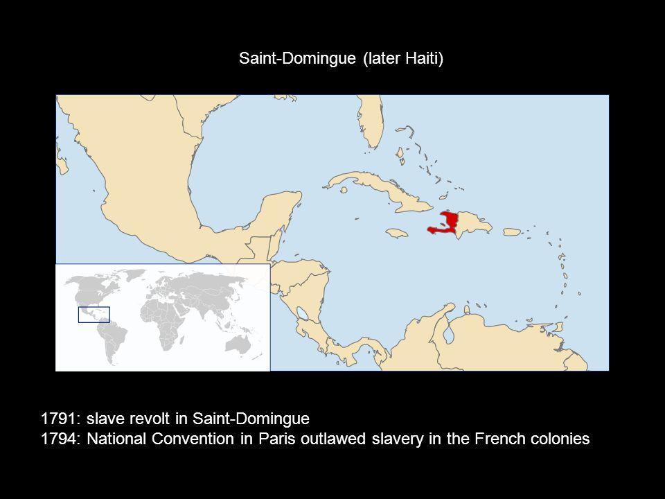 Saint-Domingue (later Haiti)