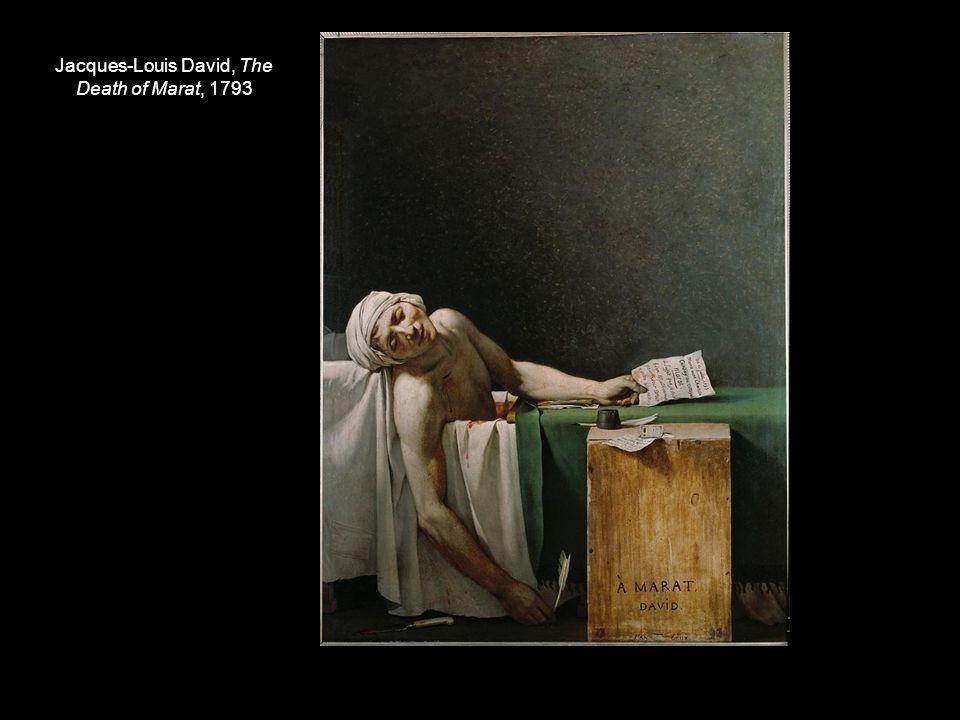 Jacques-Louis David, The Death of Marat, 1793