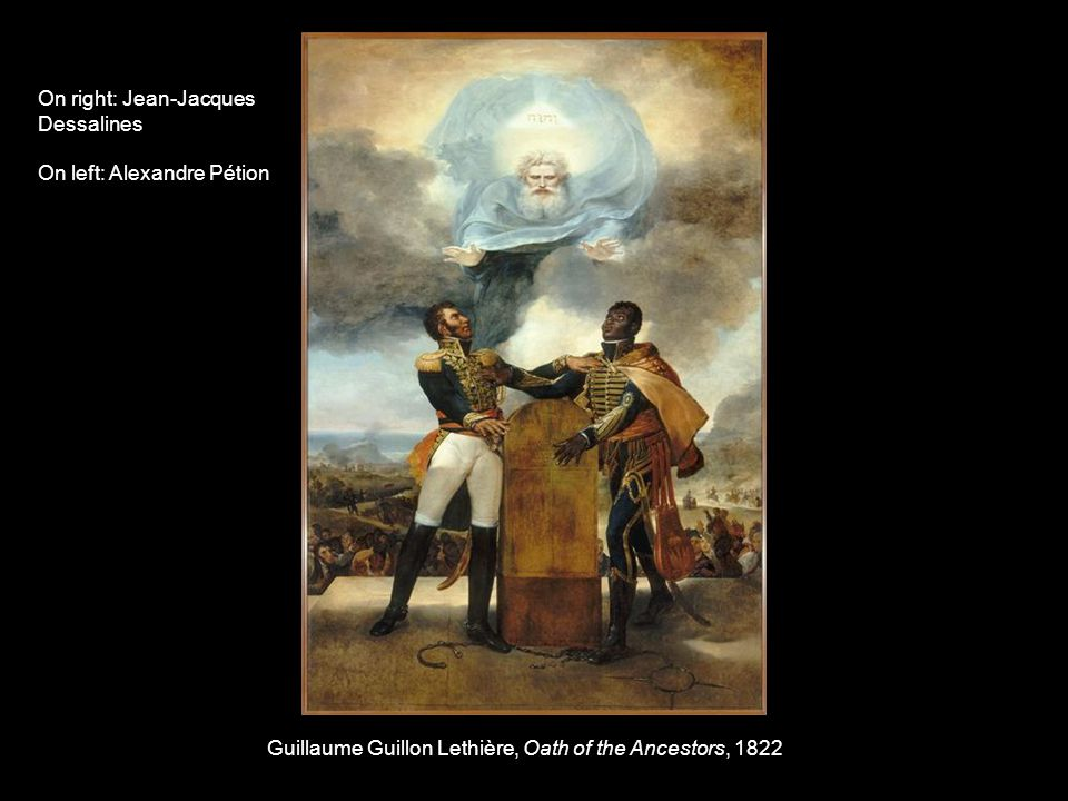 Guillaume Guillon Lethière, Oath of the Ancestors, 1822