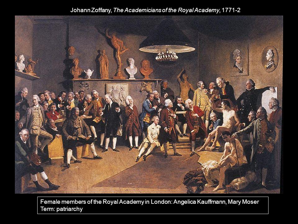 Johann Zoffany, The Academicians of the Royal Academy, 1771-2