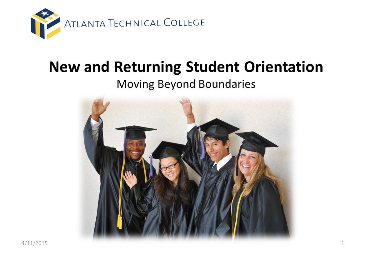 New and Returning Student Orientation Moving Beyond Boundaries