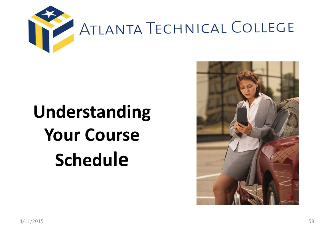 Understanding Your Course Schedule