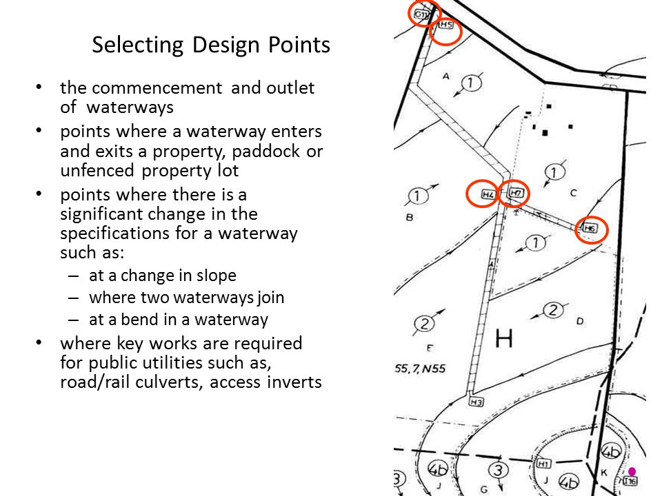 Selecting Design Points