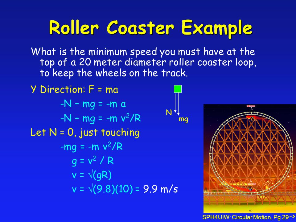 Roller Coaster Example