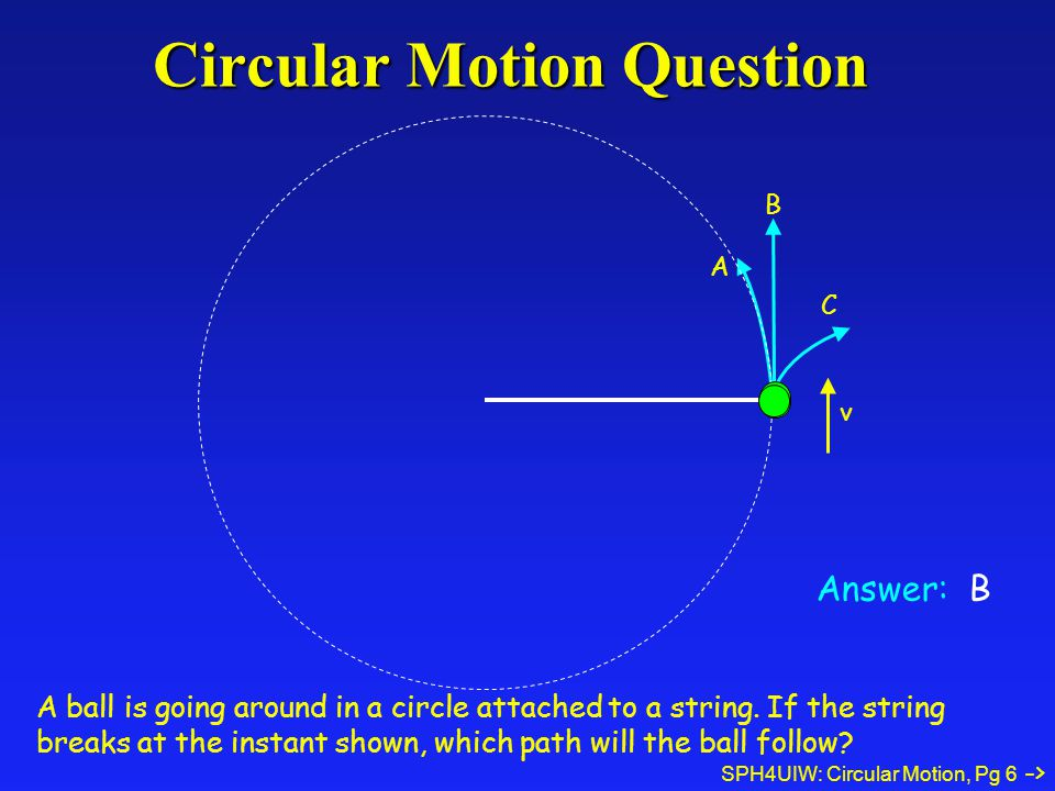 Circular Motion Question