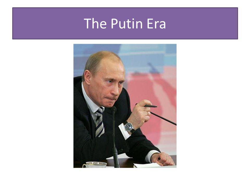 The Putin Era