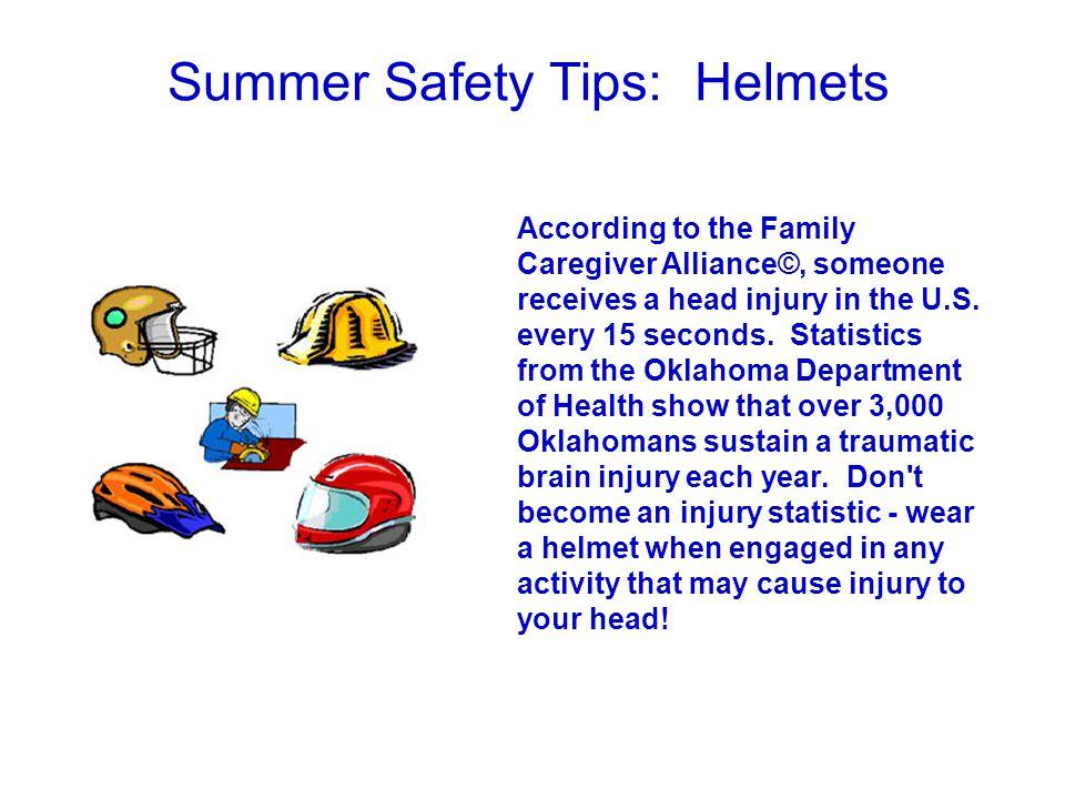 Summer Safety Tips: Helmets