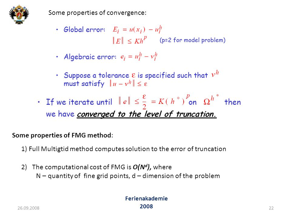 Some properties of convergence: