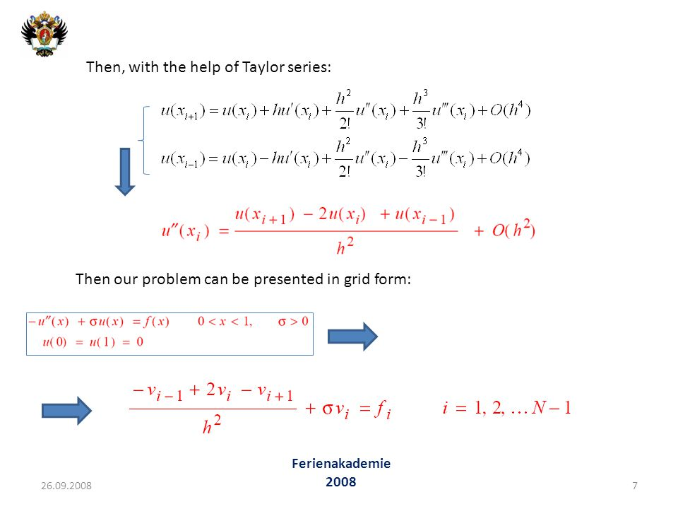 Then, with the help of Taylor series: