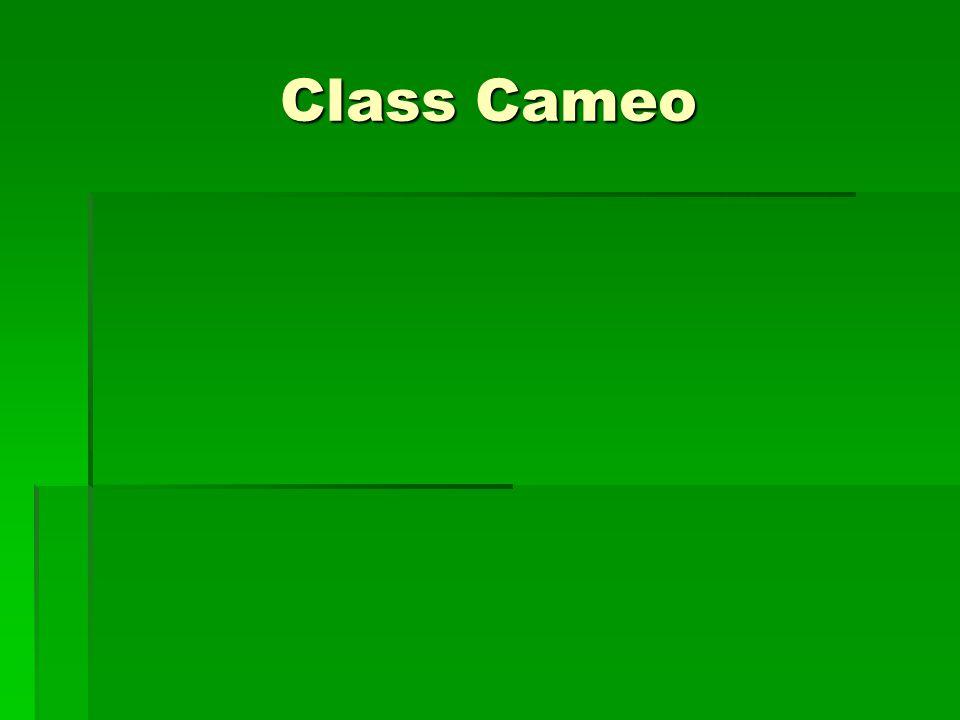 Class Cameo