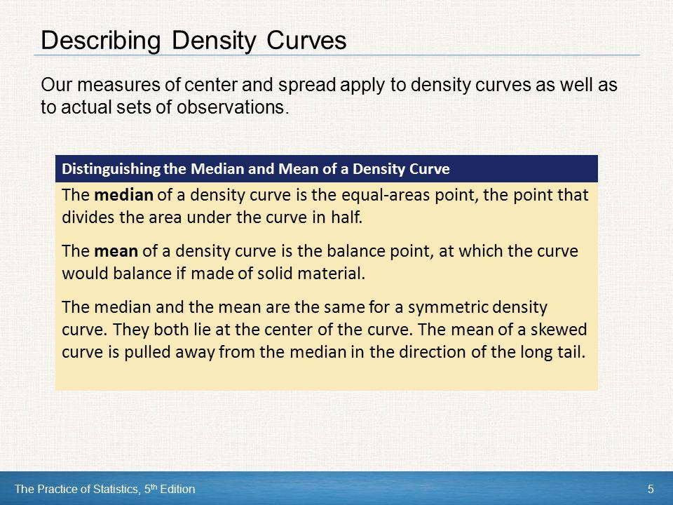 Describing Density Curves