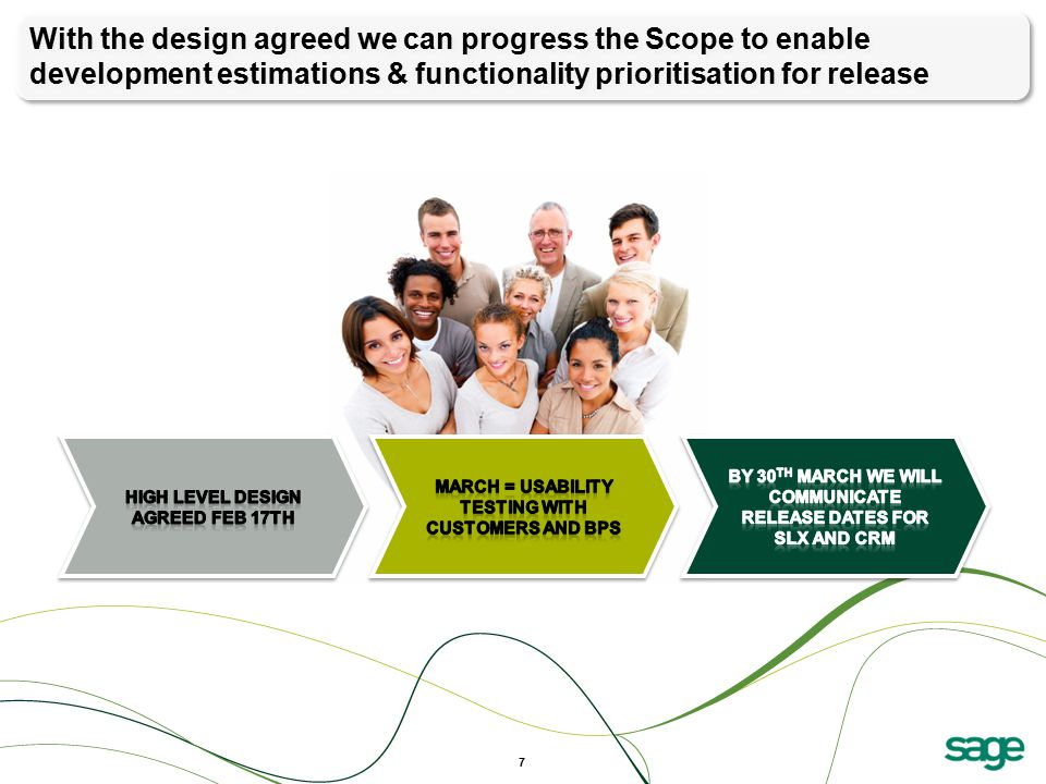 With the design agreed we can progress the Scope to enable development estimations & functionality prioritisation for release