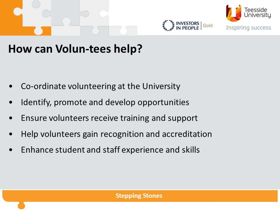 How can Volun-tees help