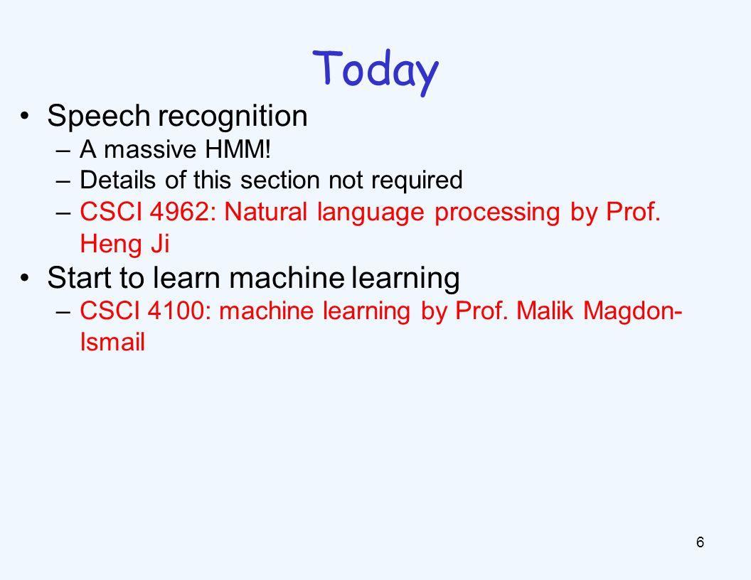 Speech and Language Speech technologies