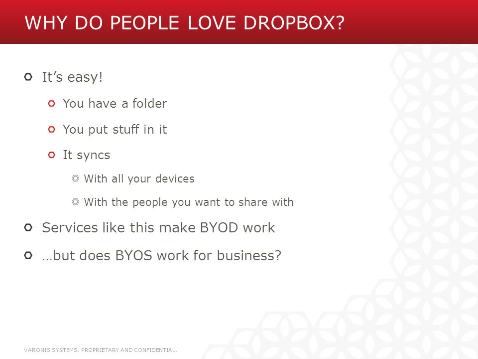 Why do people love Dropbox
