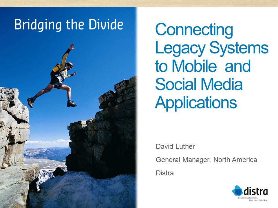 Connecting Legacy Systems to Mobile and Social Media Applications