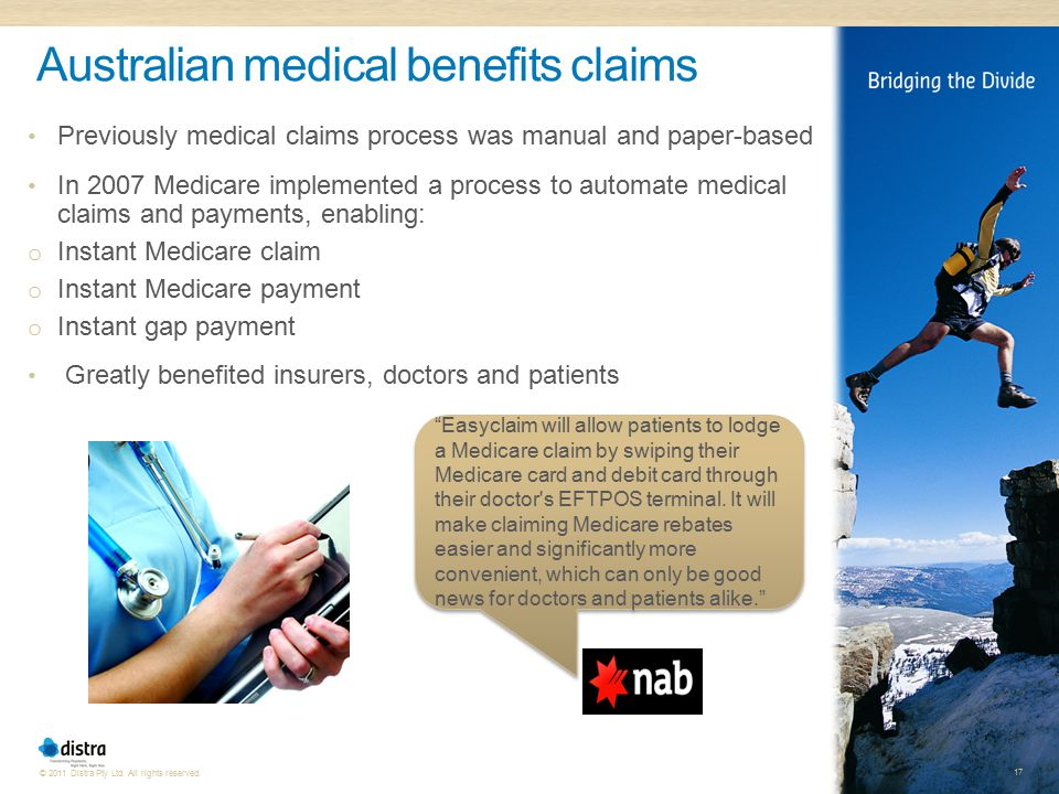 Australian medical benefits claims