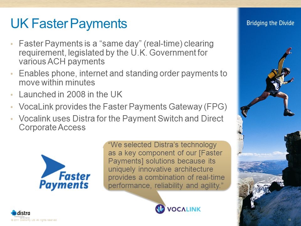 UK Faster Payments U.K. Faster Payments