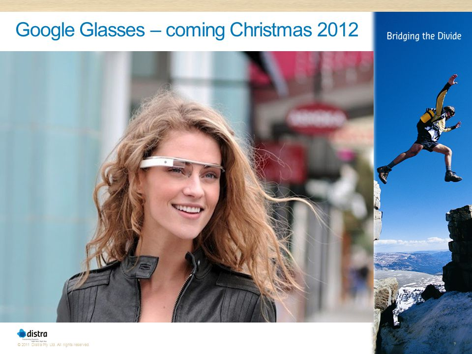 Google Glasses – coming Christmas 2012