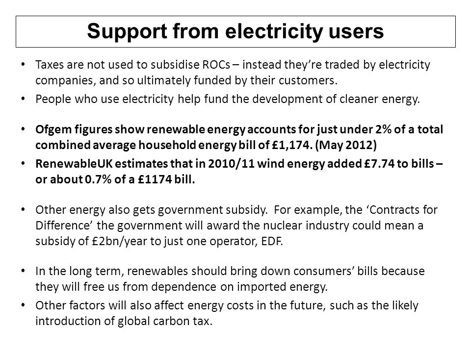Lovely 22 Support From Electricity Users