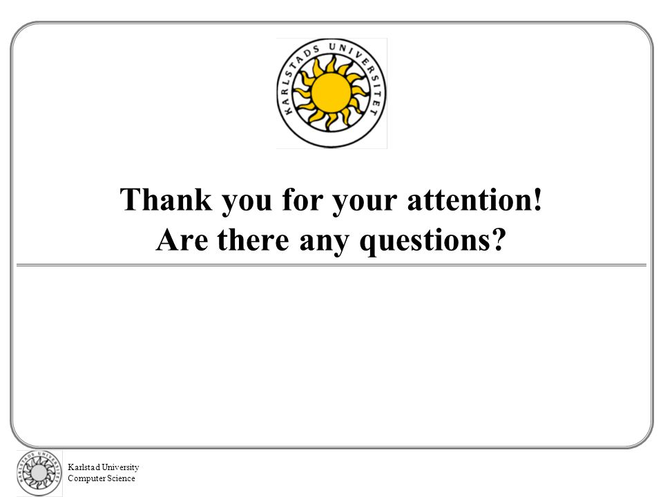 Thank you for your attention! Are there any questions