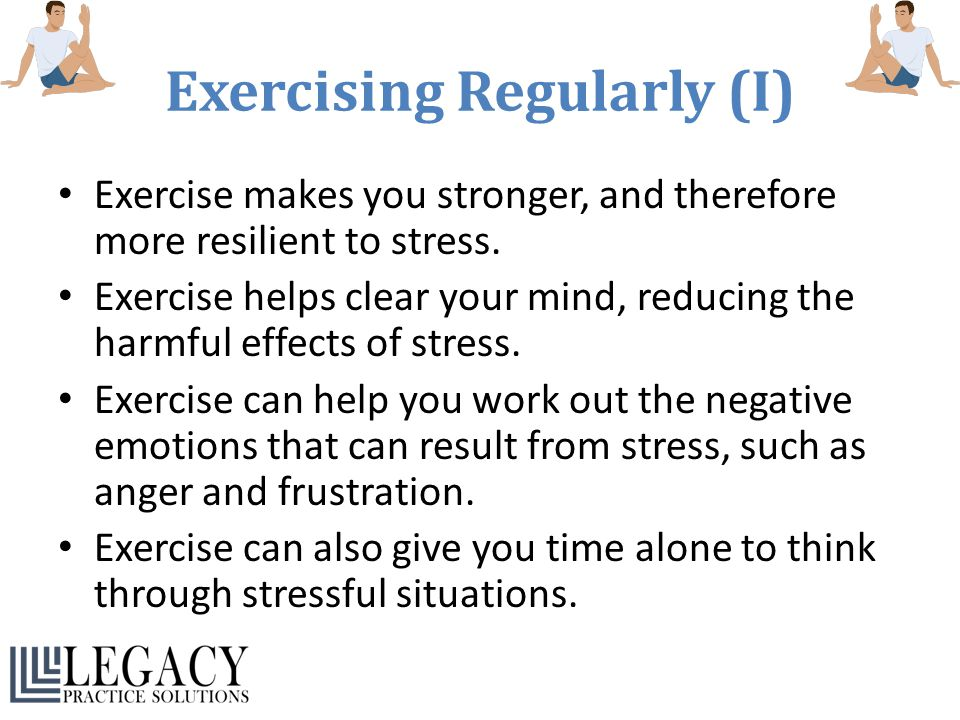 Exercising Regularly (I)