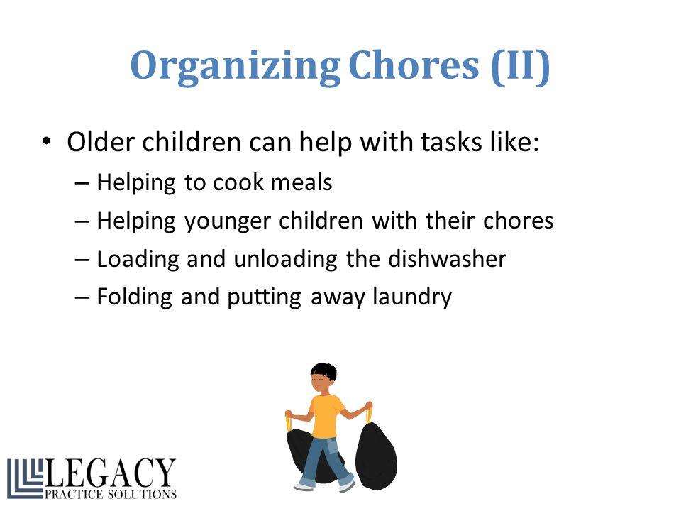Organizing Chores (II)