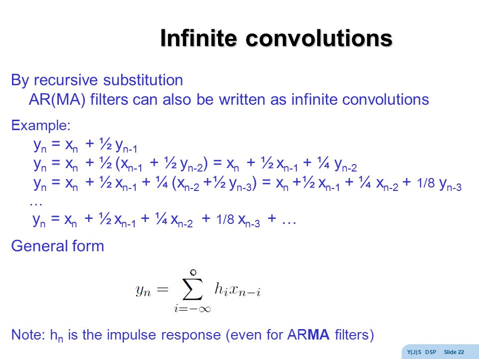 Infinite convolutions